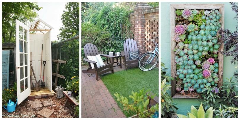 10 odličnih ideja za uređenje malog dvorišta  DOM INFO