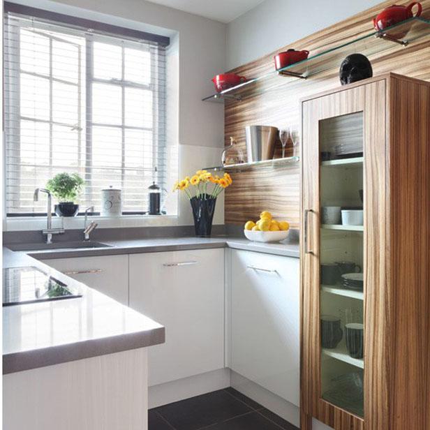 kako urediti malu kuhinju