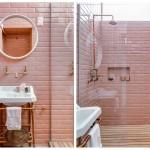 Da li vam se sviđa ovaj retro trend: Kupatila u pastelno roza boji