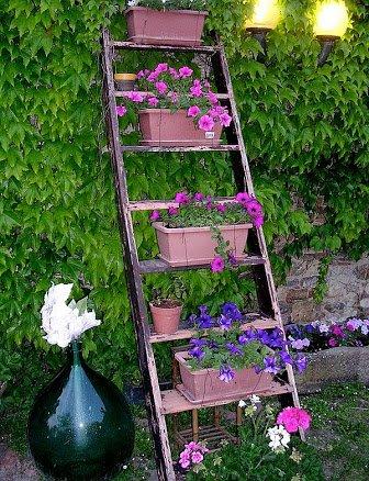 ljestve police za cvijece