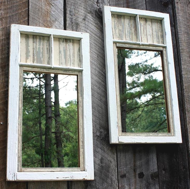 ogledala u dvoristu