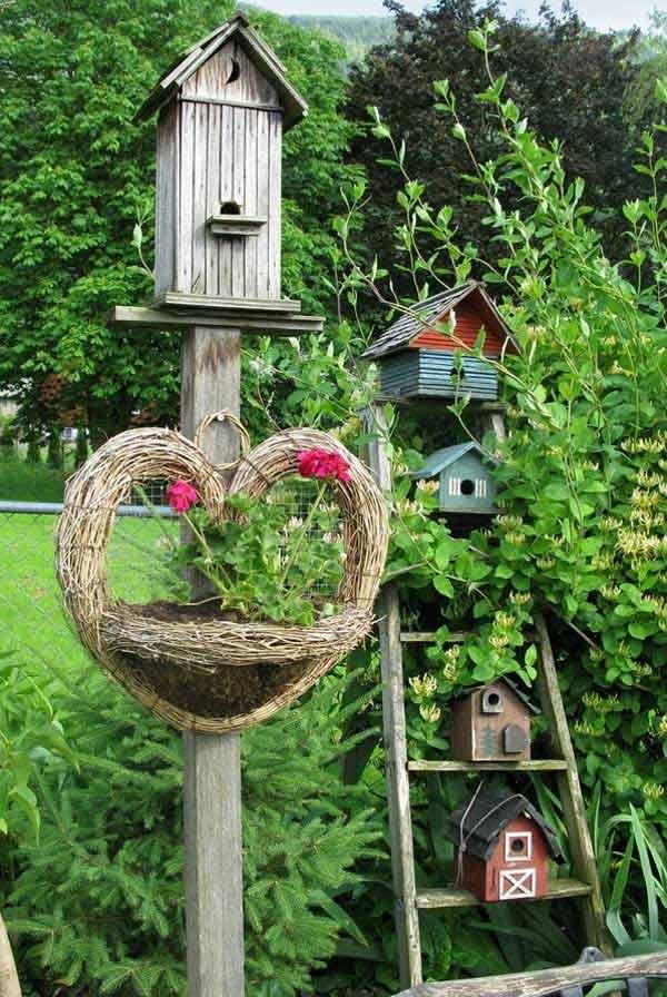 stare ljestve za vrt