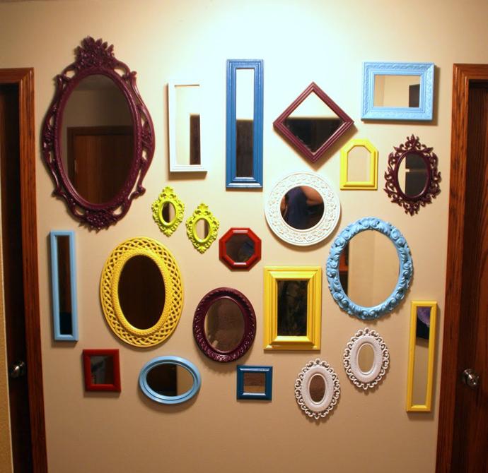 ukrasna ogledala sarena