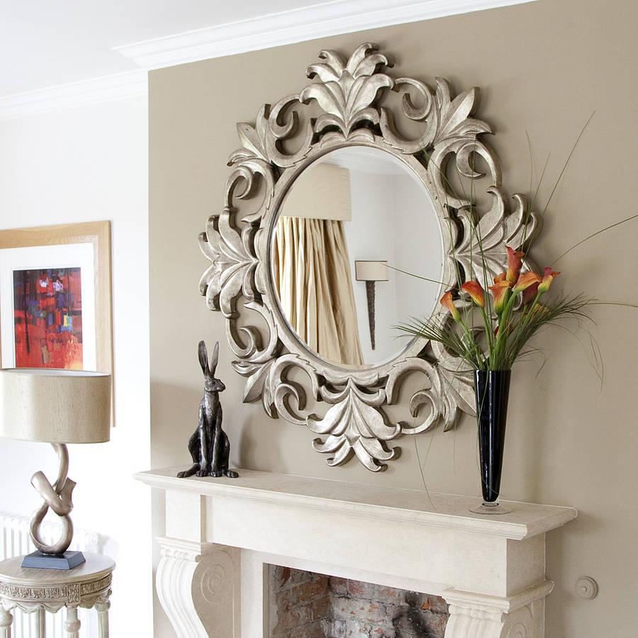 ukrasna ogledala zidna