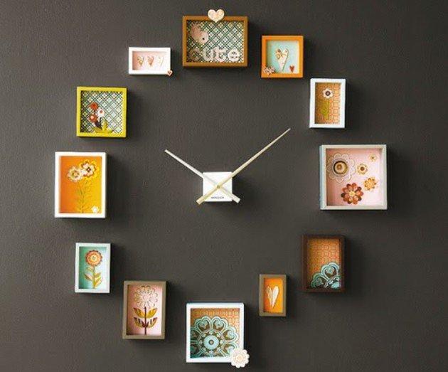 ukrasni zidni satovi slike