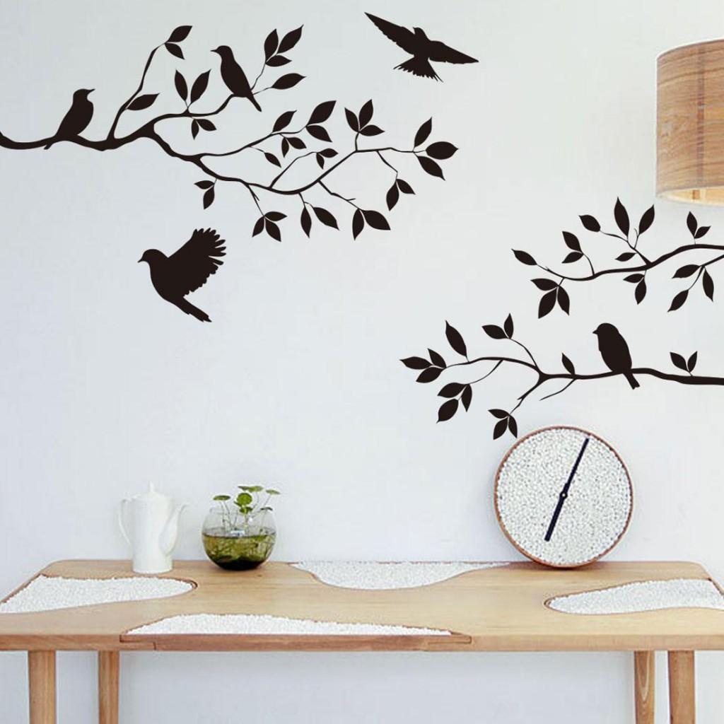 zidne naljepnice ptice