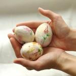 Ideje za uskršnje dekoracije: Ukrasna filcana jaja