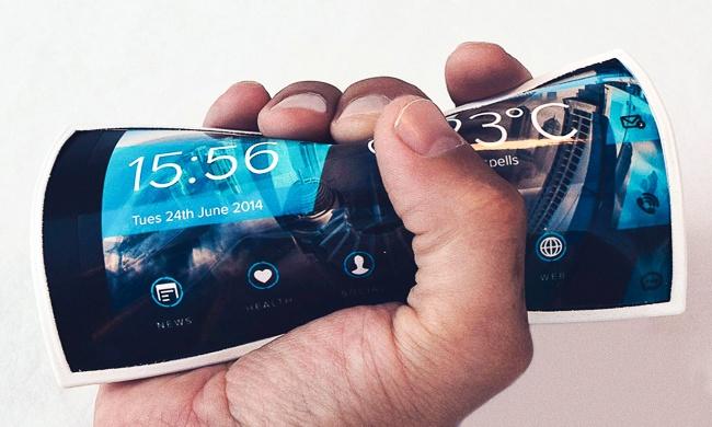 fleksibilni telefon