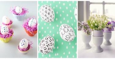 jednostavne i neodoljive uskrsnje dekoracije
