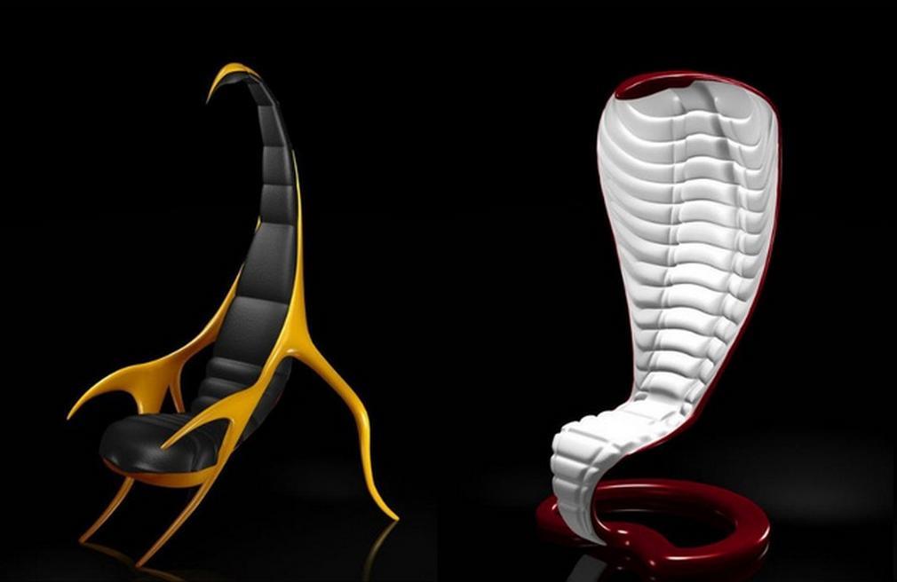 kobra i skorpion stolice