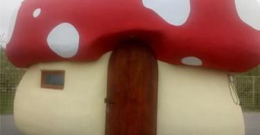 kucica u obliku gljive