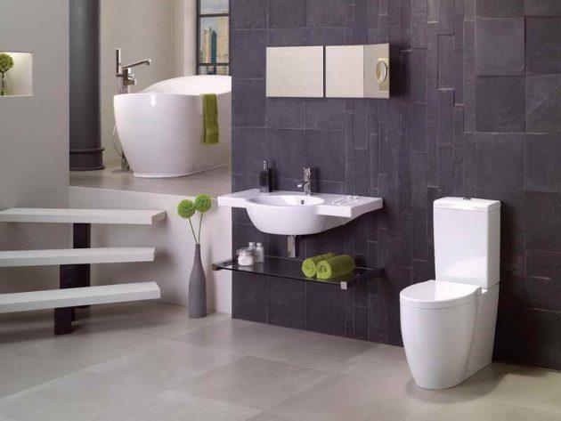kupatilo bijelo sivo