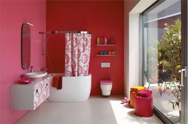 kupatilo crveno