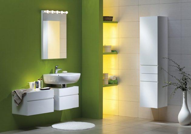 kupatilo zeleno