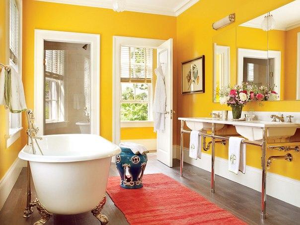 kupatilo zuto bijelo