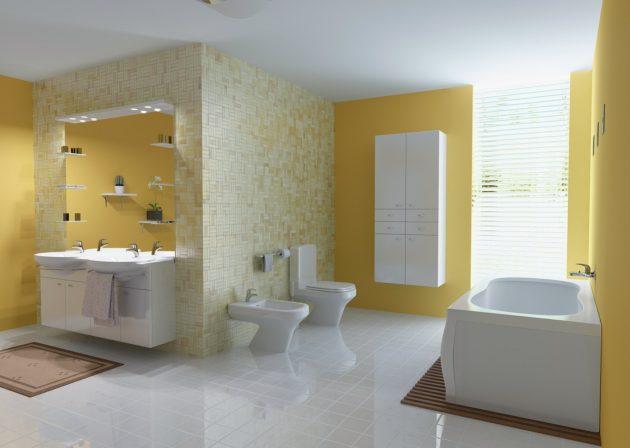 kupatilo zuto
