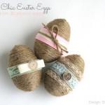 Ideje za uskršnje dekoracije: Rustikalna jaja
