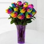 Svi su ludi za ružama u duginim bojama