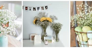 slajer cvijece bebin dah dekoracije