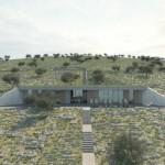 Intrigantni projekat ukopane kuće na Pagu