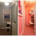 Prije i poslije: Sjajna transformacija male i uske sobe