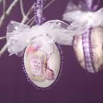Dekorativna ukršnja jaja u vintage stilu