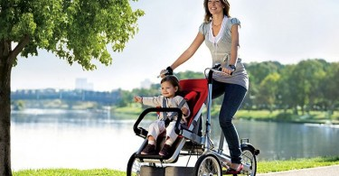 biciklo i kolica