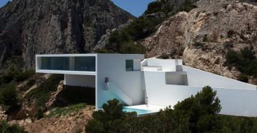 impresivna minimalisticka kuca