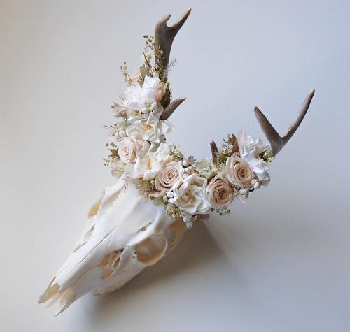lobanja cvijece