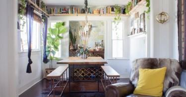 plafonske police za knjige