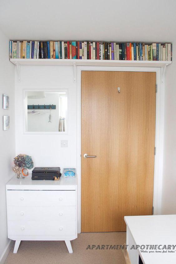 police iznad vrata