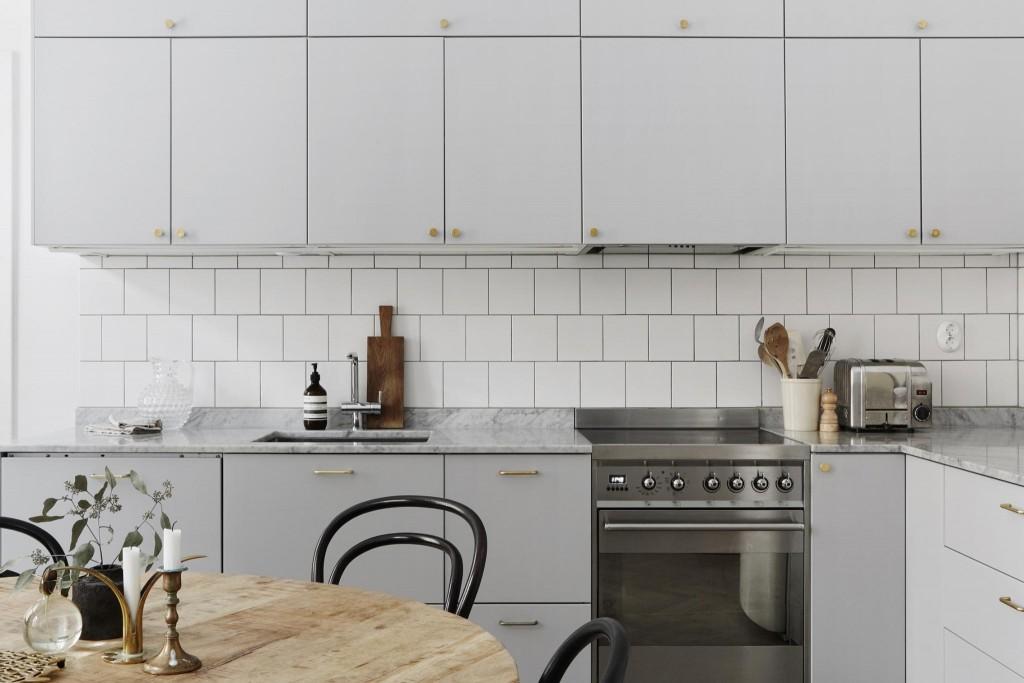skandinavsko drvo kuhinja