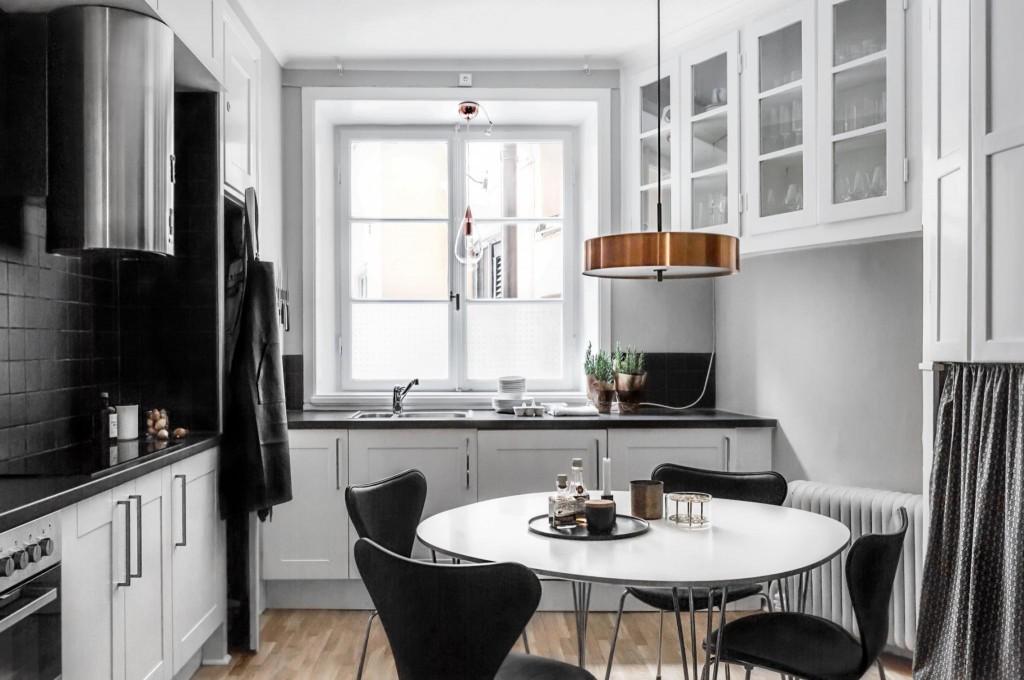 skandivaski stil uredjenja kuhinje