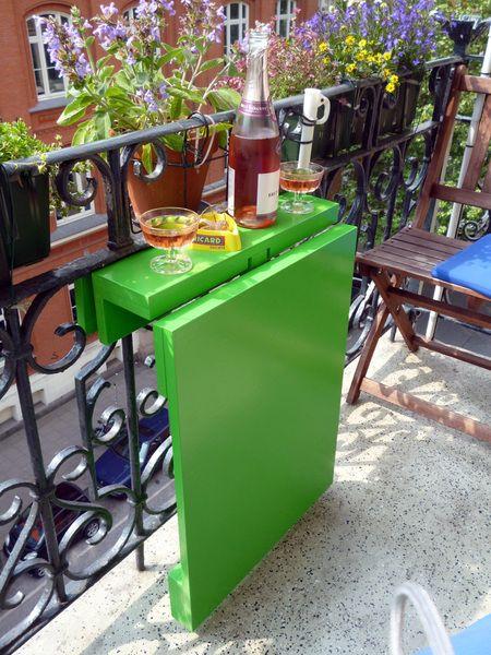 sklopivi sto za balkon