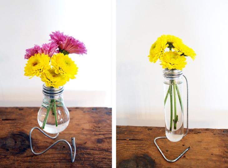 vaza od starih sijalica kako je napraviti