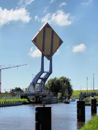 Slauerhoffbrug most koji podize dio puta