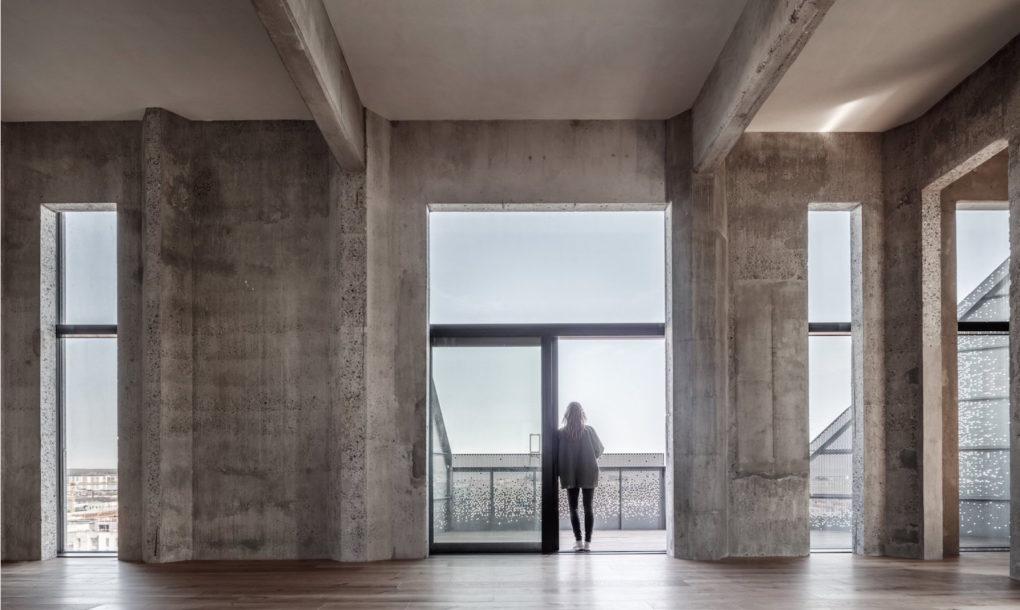 enterijer silos zgrade