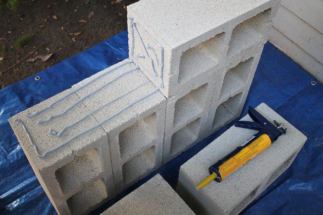 lijepljenje betonskih blokova