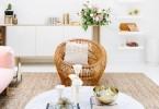 pletena fotelja