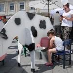 """Na """"Putu mlijeka"""" mališani učili o procesu nastanka mlijeka od farme do trpeze"""