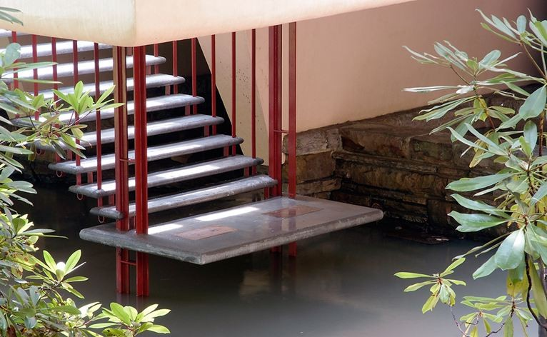 stepenice frank loyd wright