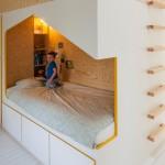 Unikatan krevet za dječju sobu s više funkcija