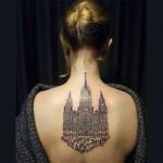 Tetovaže inspirisane arhitekturom