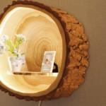 Kako napraviti lampu iz debla?