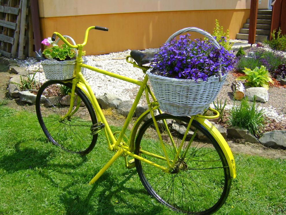 bicikl za cvijece