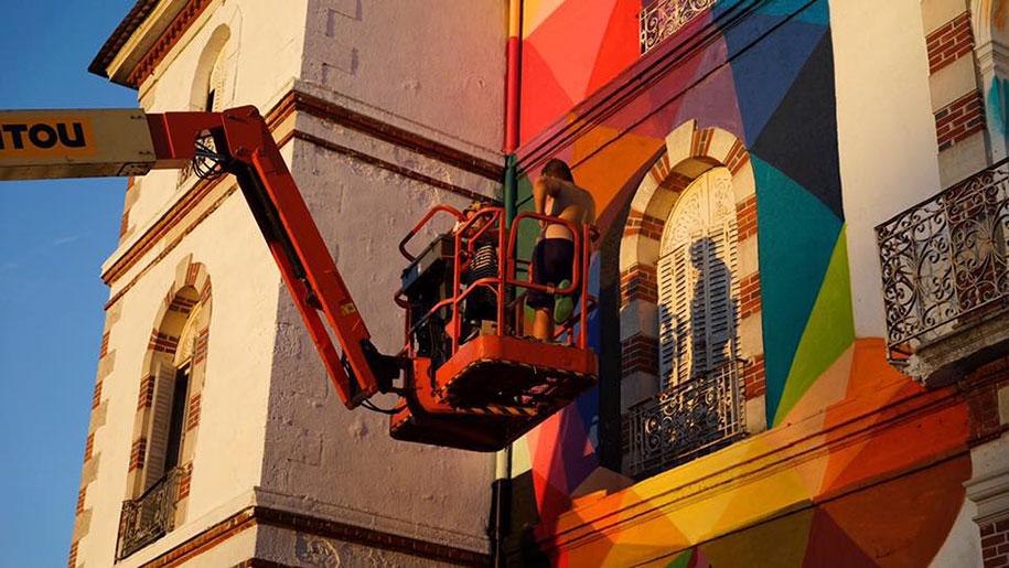 fasada grafiti
