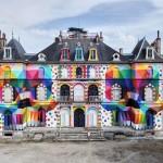 Grafitima pretvorio napušteni dvorac u umjetničko djelo