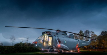 helikopter glamping