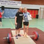 Ksenija Kecman seniorski prvak države u olimpijskom dizanju tegova