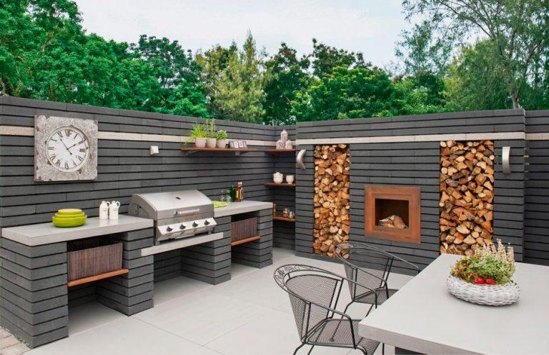 Najljep e vanjske kuhinje dom info for Grill cheminee selber bauen